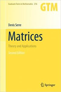 Matrices Theory and Applications – Denis Serre – 1st Edition