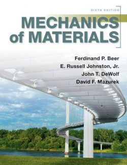 Mechanics of Materials – Beer & Johnston – 6th Edition
