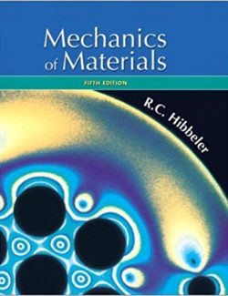 Mecánica De Materiales – Russell C. Hibbeler – 5th Edition