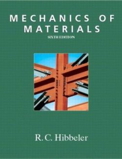 Mechanics Of Materials – Russell C. Hibbeler – 6th Edition
