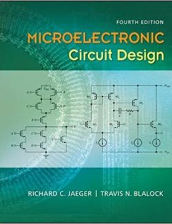 Microelectronic Circuit Design – Richard C. Jaeger, Travis N. Blalock – 4th Edition
