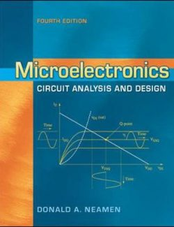 Microelectronics Circuit Analysis and Design – Donald A. Neamen – 4th Edition
