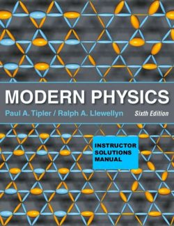 Modern Physics – Paul A. Tipler, Ralph Llewellyn – 6th Edition