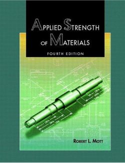 Applied Strength of Materials – Robert L. Mott – 4th Edition