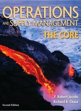 Operations and Supply Management: The Core - R. Jacobs, R. Chase - 2nd Edition 79