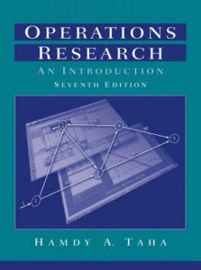 Operations Research – Hamdy A. Taha – 7th Edition