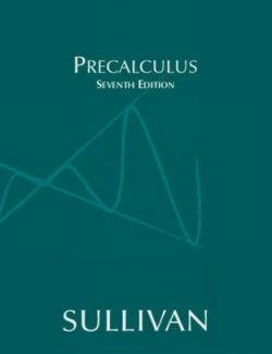 Precalculus Essentials- Michael Sullivan – 7th Edition