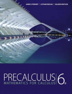 Precalculus: Mathematics for Calculus – James Stewart – 6th Edition