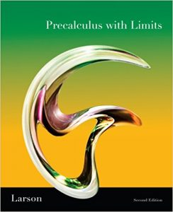 Precalculus with Limits - Ron Larson, Robert P. Hostetler - 2nd Edition 21