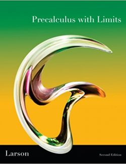 Precalculus with Limits – Ron Larson, Robert P. Hostetler – 2nd Edition