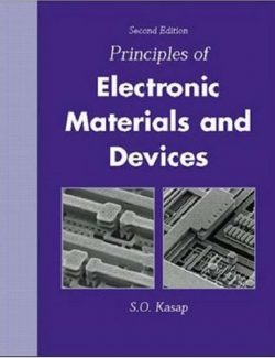 Principles of Electrical Engineering Materials and Devices – S. O. Kasap – 2nd Edition