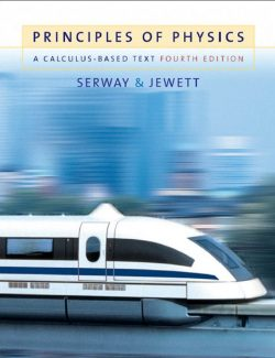 Principles of Physics a Calculus-Based Text - Raymond A. Serway - 4th Edition 27