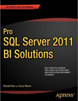 Pro SQL Server 2012 BI Solutions – Randal Root, Caryn Mason – 1st Edition