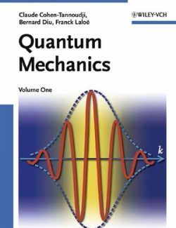 Quantum Mechanics Vol. 1 – Claude Cohen-Tannoudji – 1st Edition