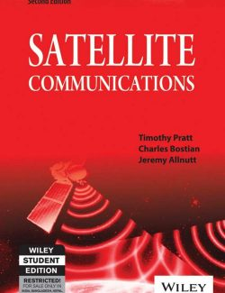 Satellite Communication – Timothy Pratt, Charles Bostian – 2nd Edition