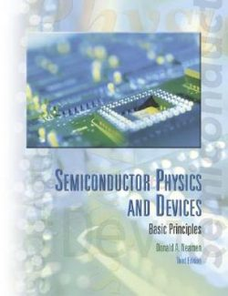 Semiconductor Physics And Devices – Donald A. Neamen – 3rd Edition