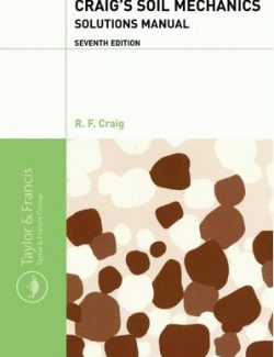 Soil Mechanics – R. F. Craig – 7th Edition