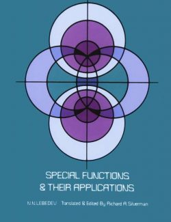 Special Functions and Their Applications – N.N. Lebedev – 1st Edition