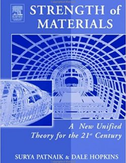 Strength of Materials – Surya N. Patnaik, Dale A. Hopkins – 1st Edition