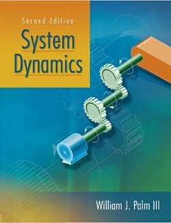 System Dynamics – William Palm III – 2nd Edition