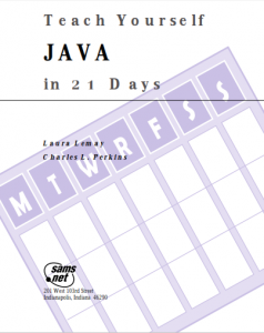 Teach Yourself JAVA in 21 Days – Laura Lemay – 1st Edition