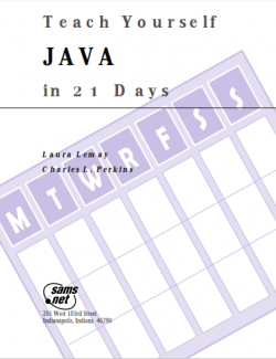 Teach Yourself JAVA in 21 Days - Laura Lemay - 1st Edition 29