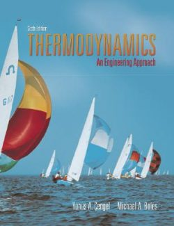 Thermodynamics: An Engineering Approach- Yunus Çengel, Michael Boles – 6th Edition