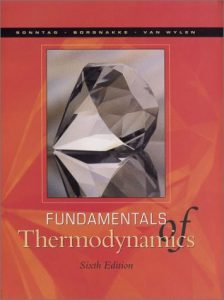 Fundamentals of Statistical Thermodynamics – Van Wylen – 6th Edition