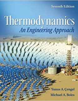 Thermodynamics: An Engineering Approach – Yunus A. Cengel – 7th Edition