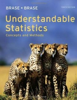 Understandable Statistics: Concepts & Methods – Brase, Brase – 10th Edition