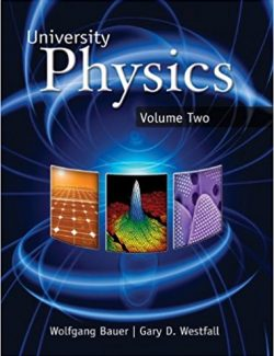 University Physics with Modern Physics – W. Bauer, G. Westfall – 1st Edition