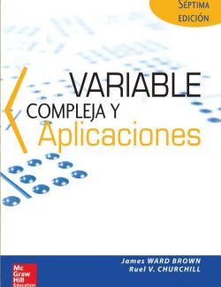 Complex Variables and Applications – Ruel V. Churchill – 7th Edition