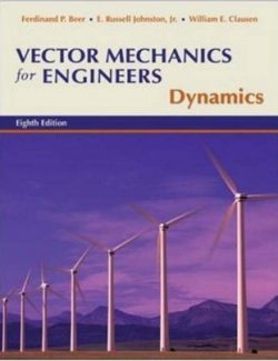 Vector Mechanics for Engineers: Dynamics – Beer & Johnston – 8th Edition