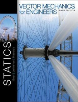 Vector Mechanics for Engineers: Statics – Beer & Johnston – 10th Edition