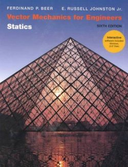 Vector Mechanics for Engineers: Statics – Beer & Johnston – 6th Edition