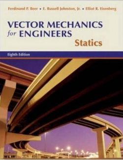 Vector Mechanics for Engineers: Statics – Beer & Johnston – 8th Edition