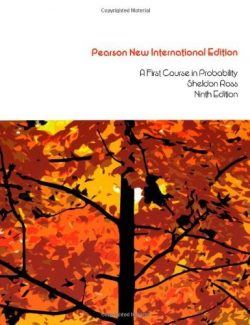 A First Course in Probability – Sheldon M. Ross – 9th International Edition
