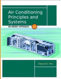 Air Conditioning Principles and Systems: An Energy Aproach – Edward Pita – 4th Edition