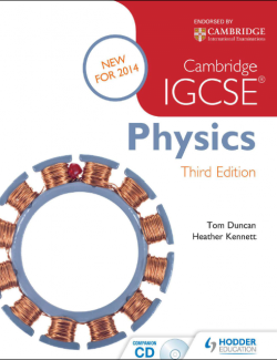 Cambridge IGCSE® Physics - Tom Duncan, Heather Kennett - 3rd Edition 20