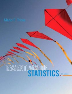 Essentials of Statistics – Mario F. Triola – 5th Edition