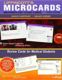 Microbiology Flash Cards - Lippincott's Microcards - 3rd Edition 21