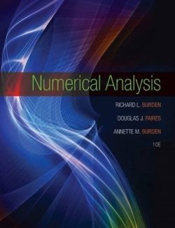 Numerical Analysis – Burden & Faires – 10th Edition
