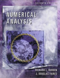 Numerical Analysis – Burden & Faires – 7th Edition