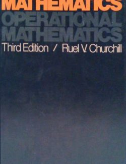 Operational Mathematics - Ruel V. Churchill - 3rd Edition 21