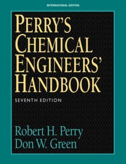 Perry's Chemical Engineers' Handbook – Robert H. Perry – 7th Edition