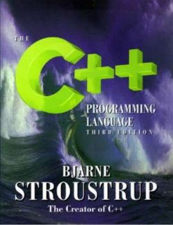 The C++ Programming Lenguage – Bjarne Stroustrup – 3rd Edition