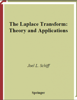 The Laplace Transform: Theory and Applications - Joel L. Schiff - 1st Edition 22