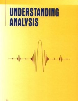 Understanding Analysis – Stephen Abbott – 1st Edition