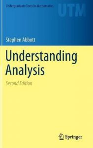 Understanding Analysis – Stephen Abbott – 2nd Edition