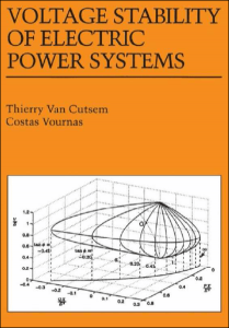 Voltage Stability of Electric Power Systems – Thierry V. Cutsem, Costas Vournas – 1ra Edition